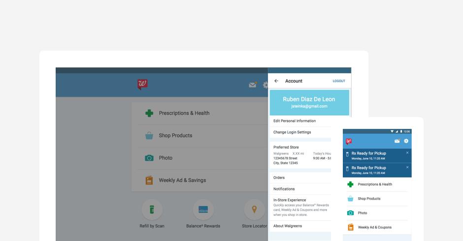 Walgreens App Redesign